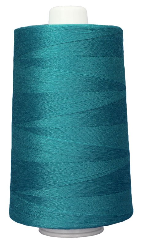 #3092 GREEN TURQUOISE Omni Thread. Poly-wrapped poly core. 6000 yds.