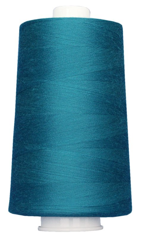 #3093 BLUE TEAL Omni Thread. Poly-wrapped poly core. 6000 yds.