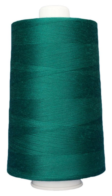 #3097 GREEN TEAL Omni Thread. Poly-wrapped poly core. 6000 yds.
