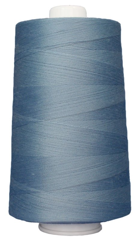 #3100 LITTLE BOY BLUE Omni Thread. Poly-wrapped poly core. 6000 yds.