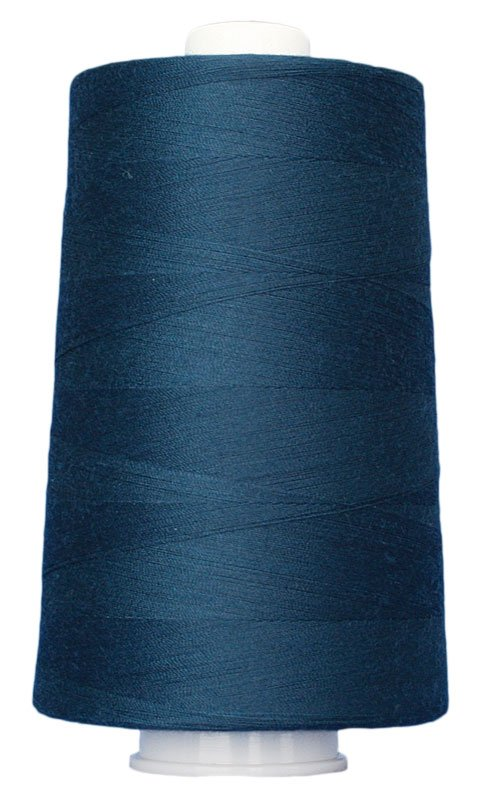 #3107 NEW ENGLAND BLUE Omni Thread. Poly-wrapped poly core. 6000 yds.