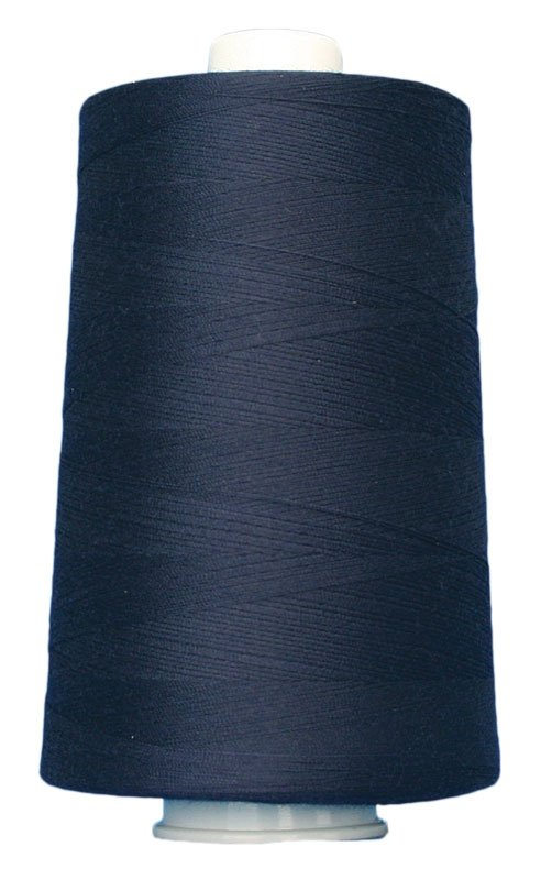 #3109 NAVY BLUE Omni Thread. Poly-wrapped poly core. 6000 yds.