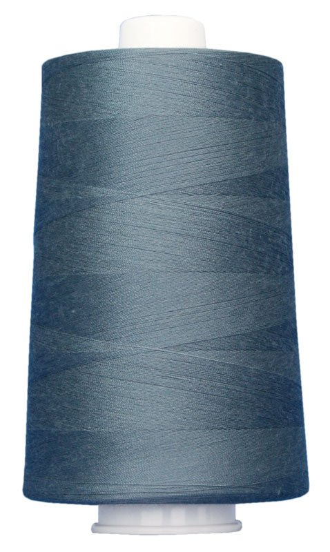 #3110 STEEL BLUE Omni Thread. Poly-wrapped poly core. 6000 yds.