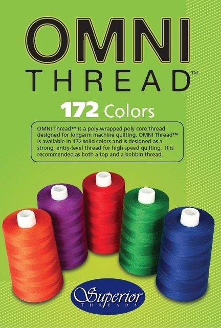 OMNI Color Card (Book) - All 172 Colors