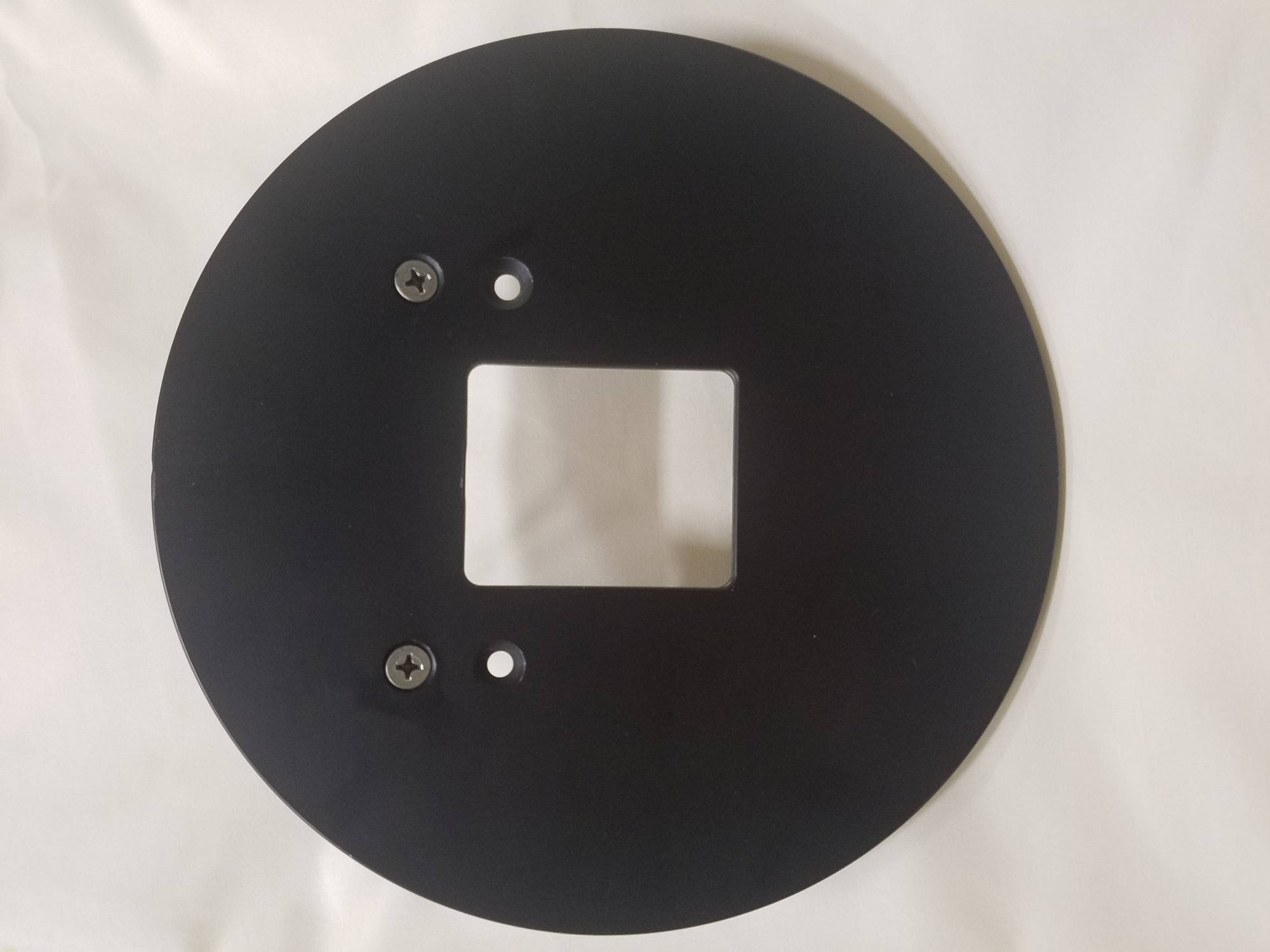 Used Circular Throat Plates