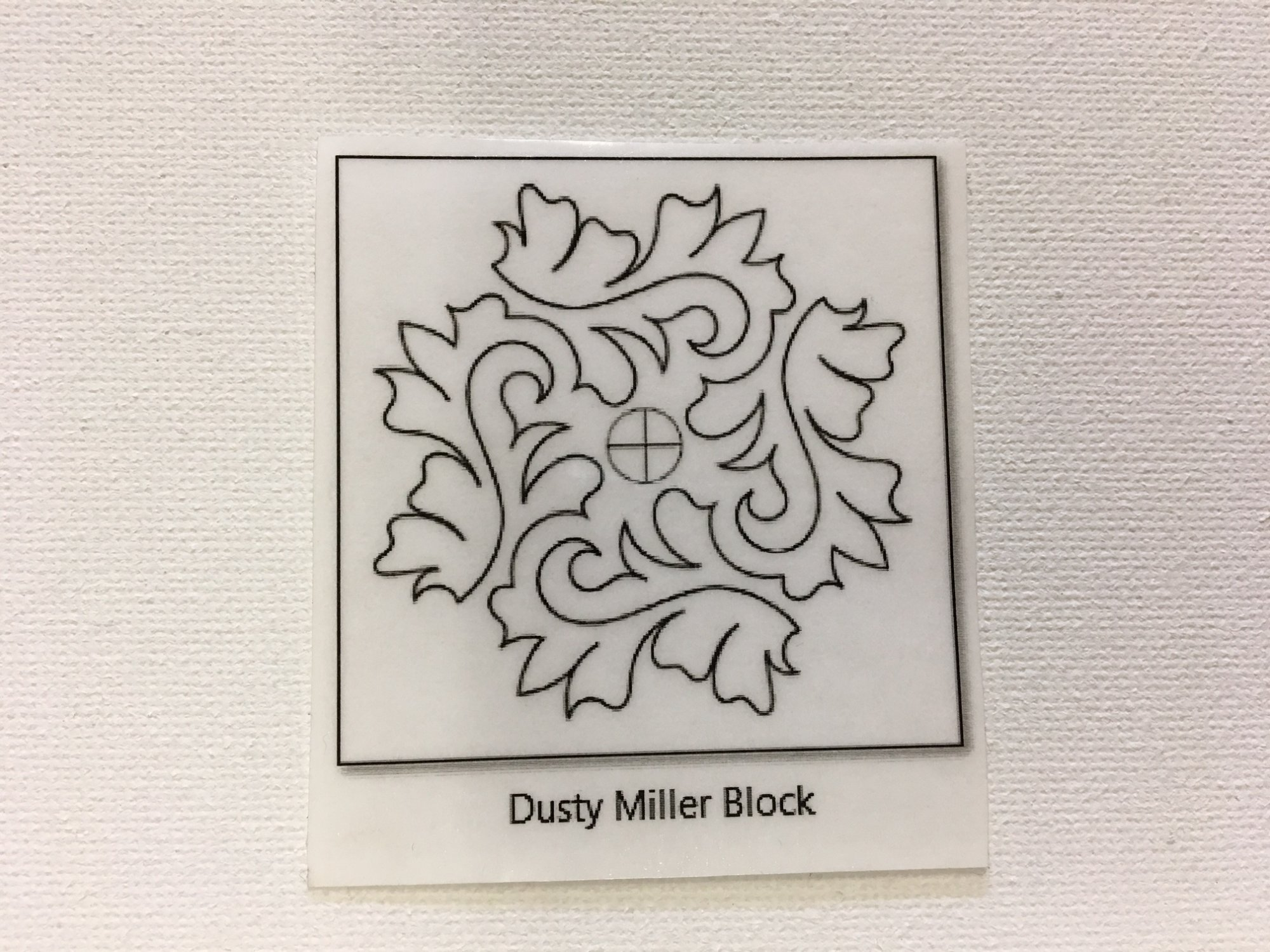 Dusty Miller Block #1