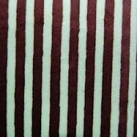 Green Stripe Minky