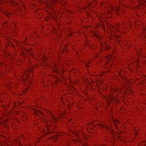 Henry Glass Flourish Red