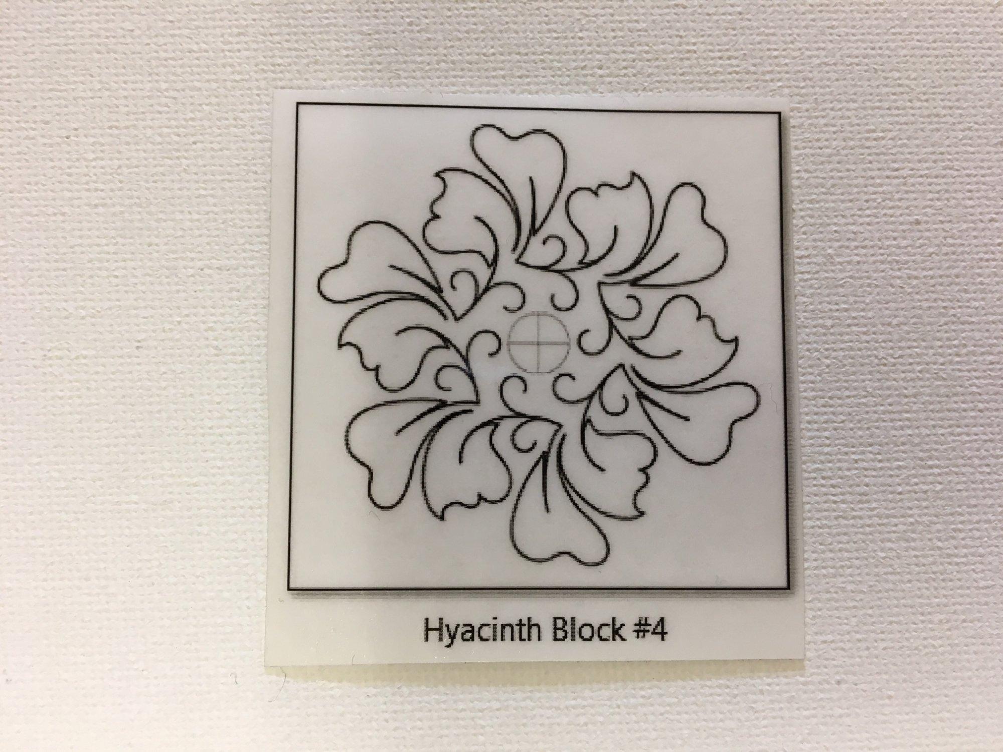 Hyacinth Block