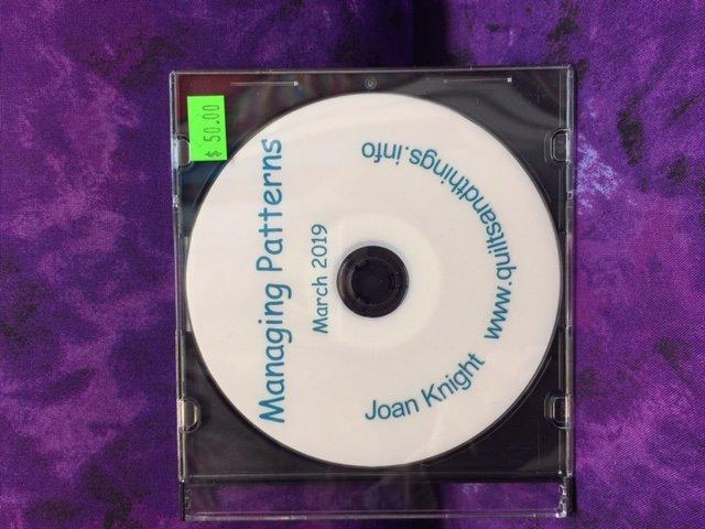 Managing Patterns in CS 7 by Joan Knight