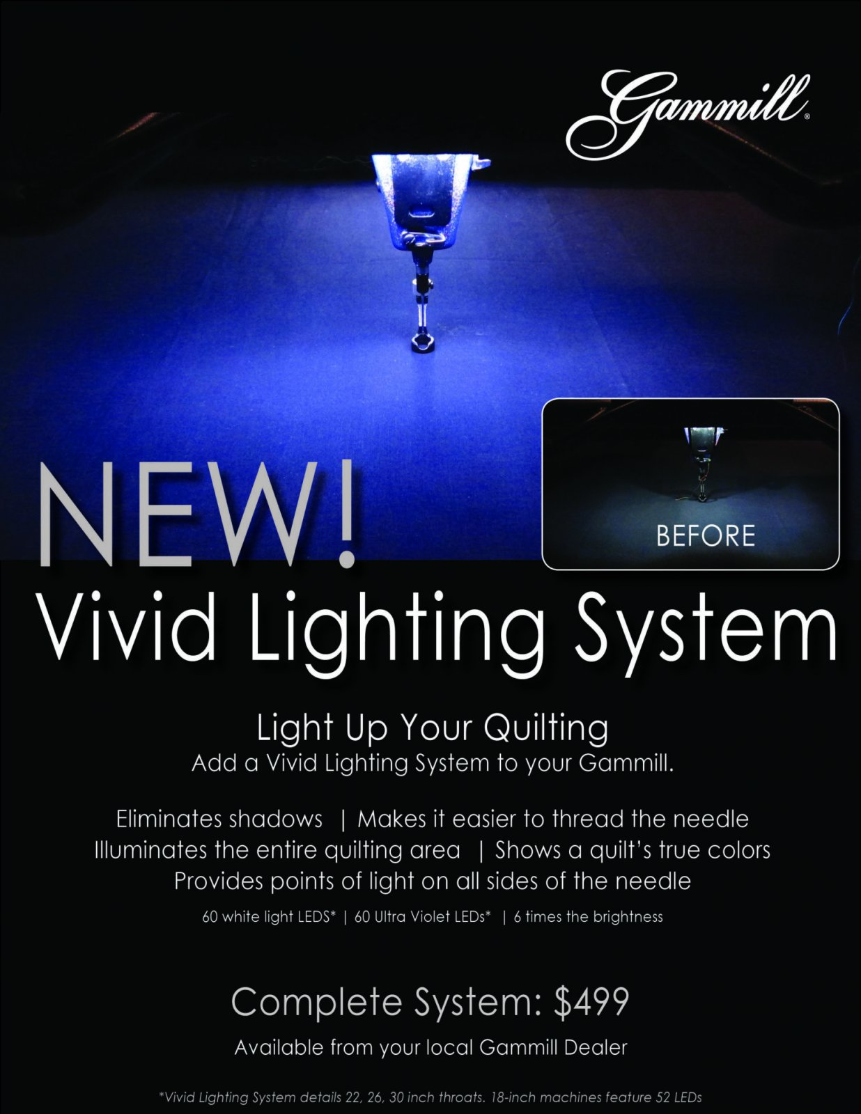 Vivid Lighting System for 18