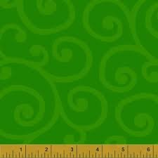 Windham Spin Scroll Green