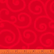 Windham Spin Scroll Red