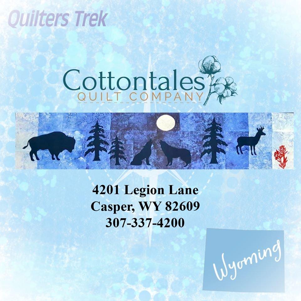 Quilters Trek 2020 Laser Cut Kit