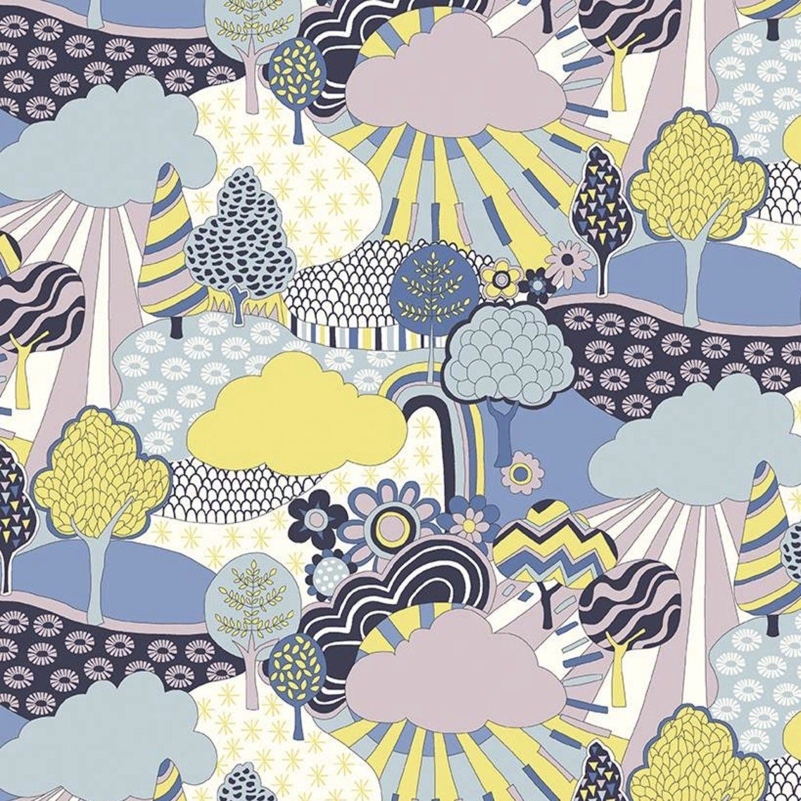 Liberty Fabrics The Carnaby Collection - Daydream (Sunny Afternoon B)