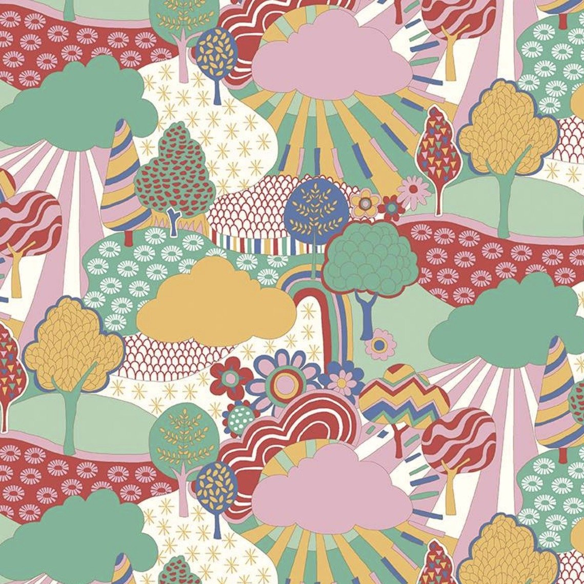 Liberty Fabrics The Carnaby Collection - Bohemian Brights (Sunny Afternoon C)