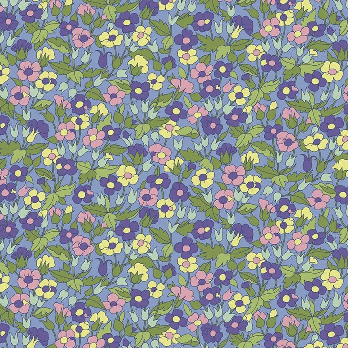 Liberty Fabrics The Carnaby Collection - Daydream (Piccadilly Poppy D)