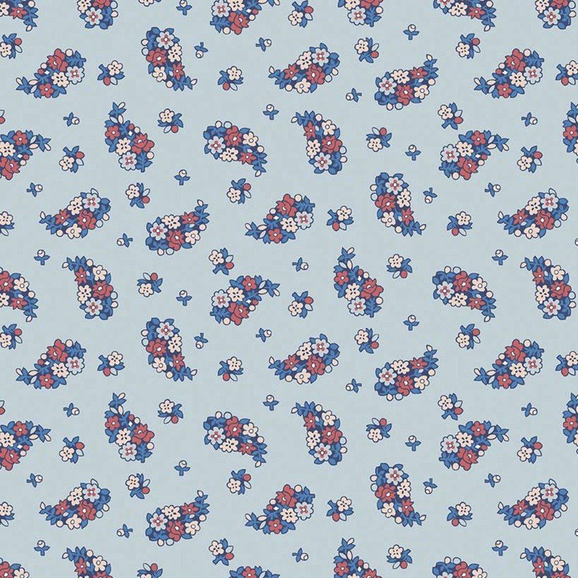 Liberty Fabrics The Carnaby Collection - Retro Indigo (Portobello Paisley A)