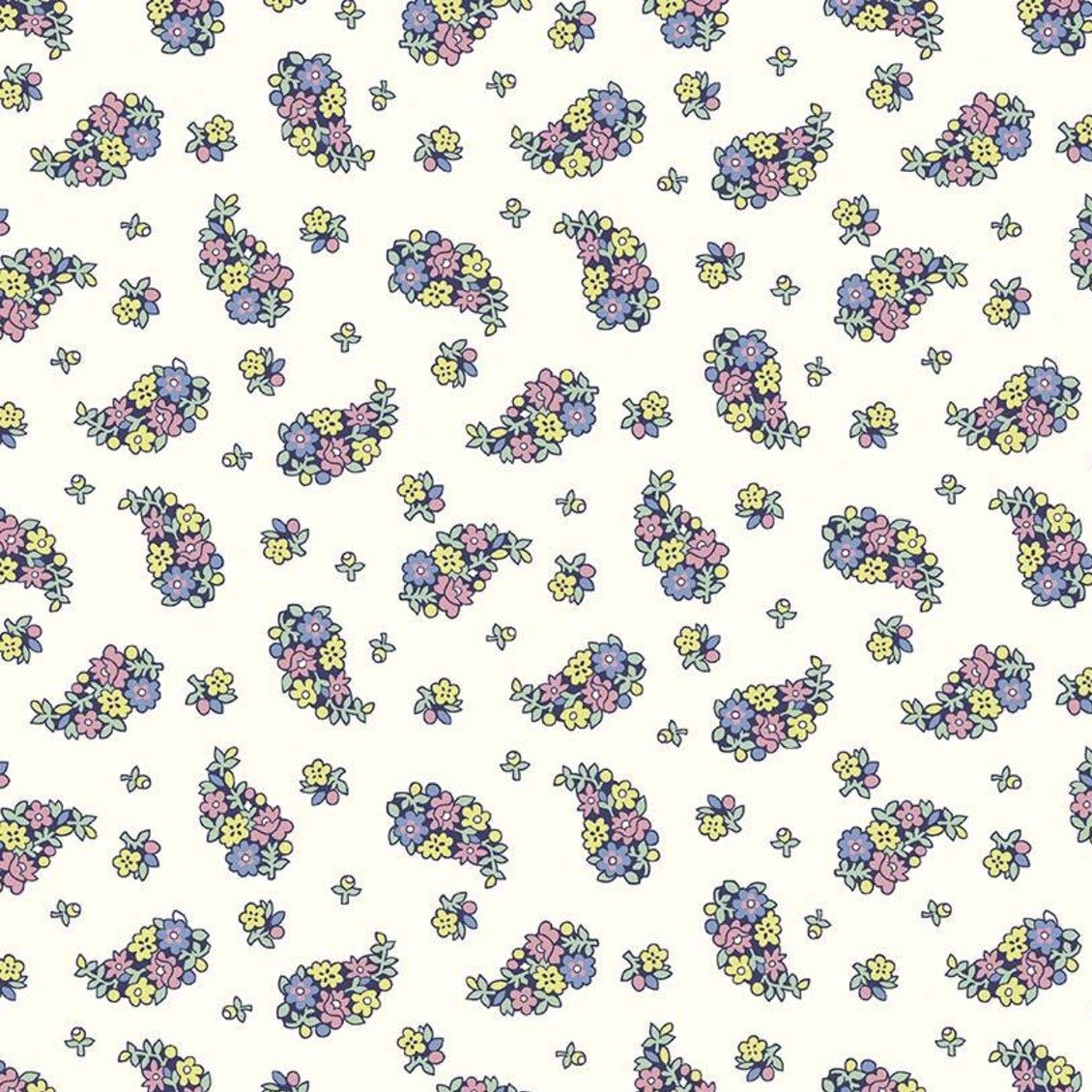 Liberty Fabrics The Carnaby Collection - Daydream (Portobellos Paisley C)