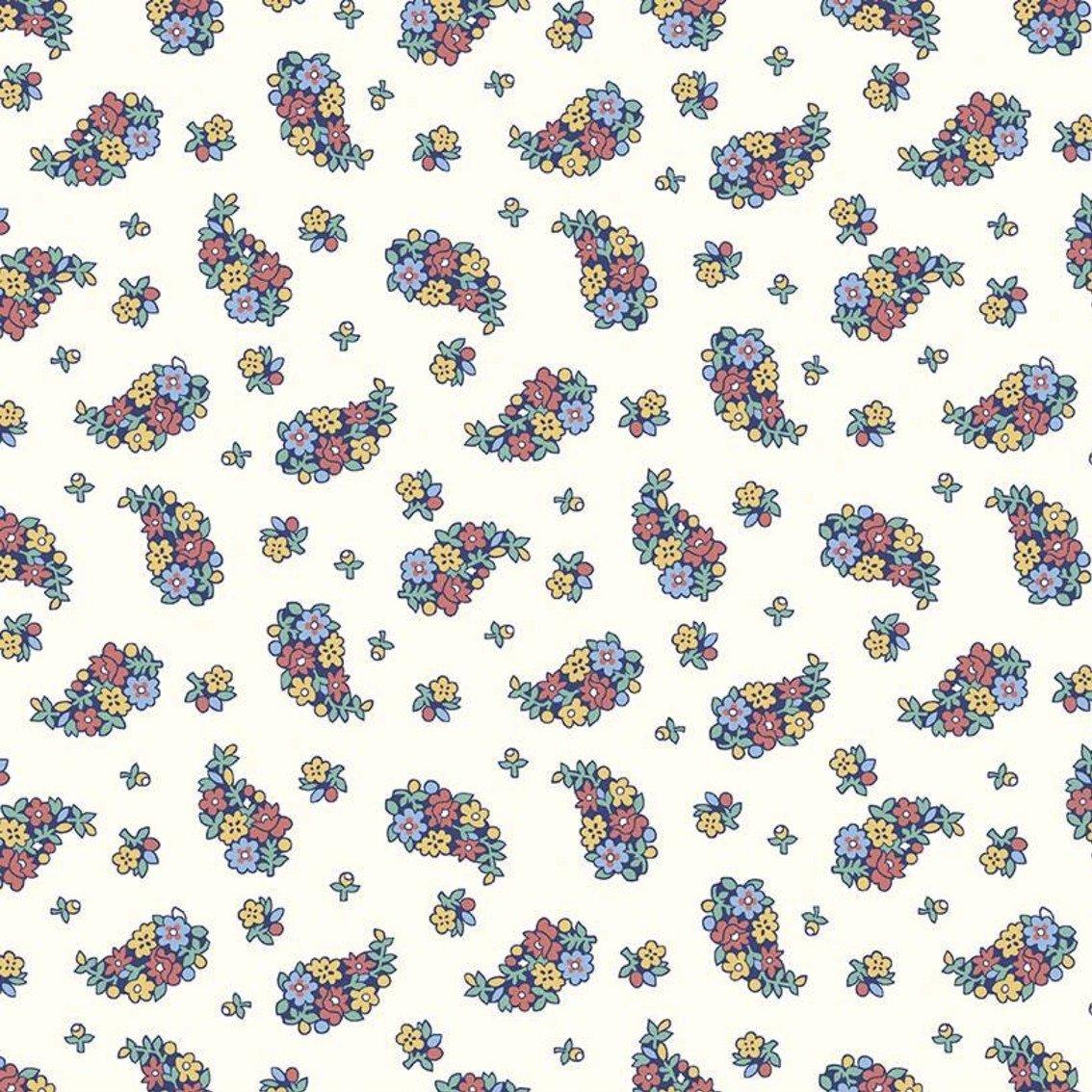 Liberty Fabrics The Carnaby Collection - Bohemian Brights (Portobellos Paisley D)