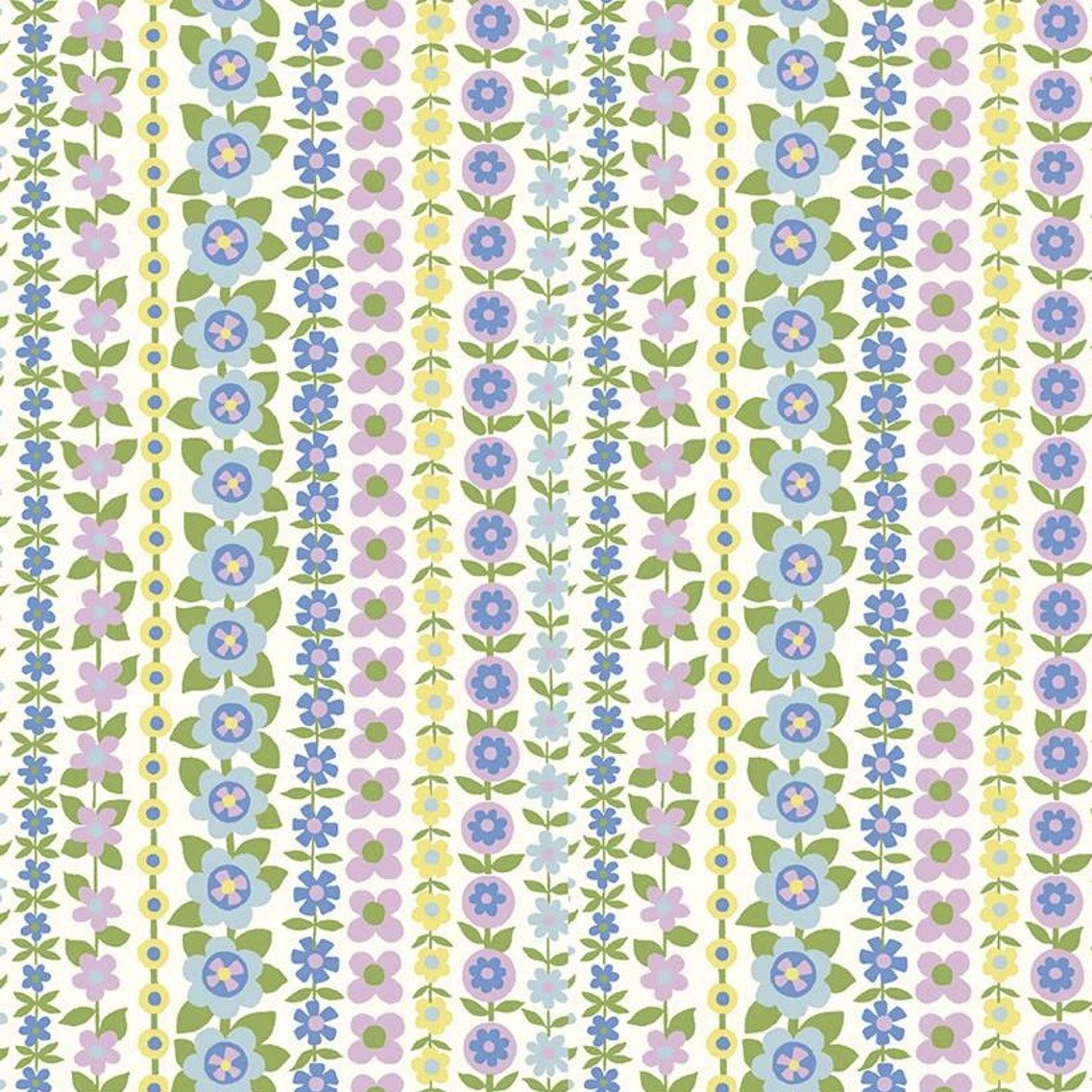 Liberty Fabrics The Carnaby Collection - Daydream (Soho Stripe B)