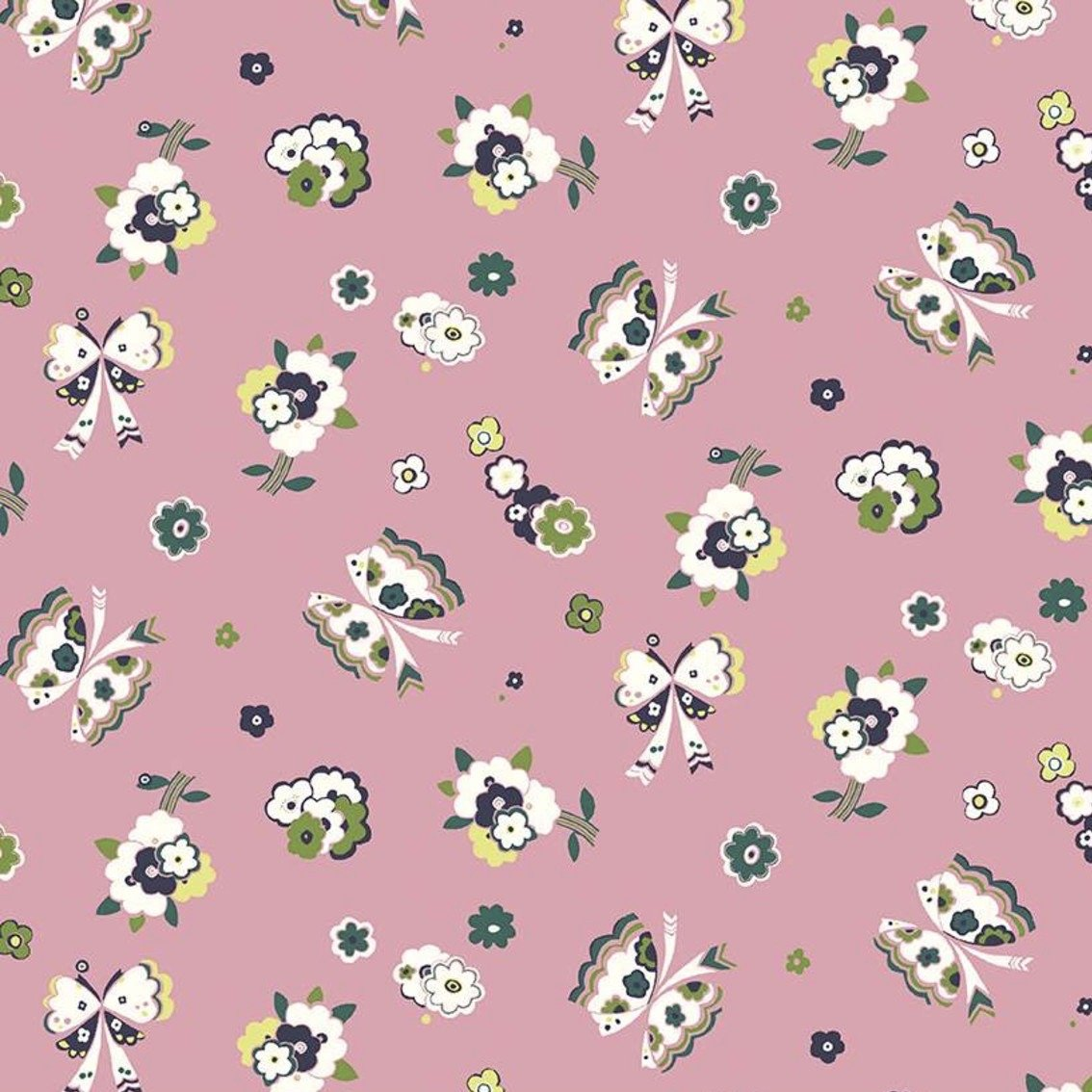 Liberty Fabrics The Carnaby Collection - Daydream (Fluttering Floral A)