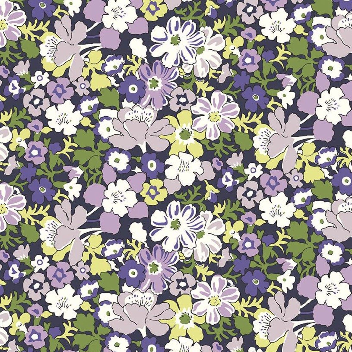 Liberty Fabrics The Carnaby Collection - Daydream (Westbourne Posy B)