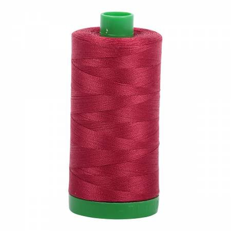 Aurifil 40 WT Cotton (Burgundy)