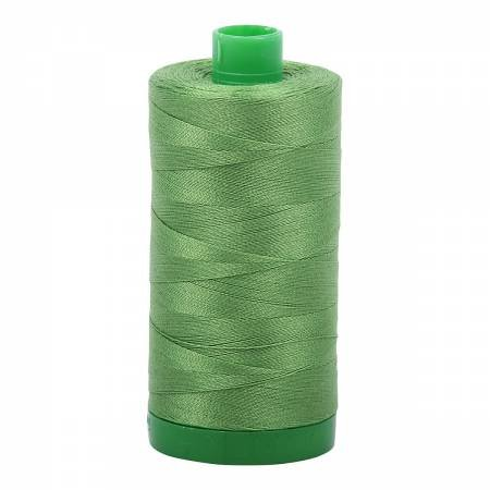 Aurifil 40 WT Cotton (Grass Green)