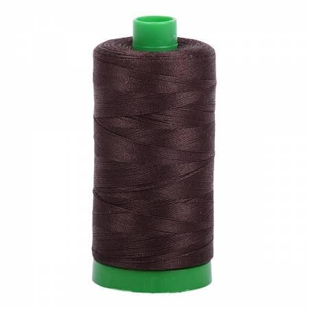 Aurifil 40 WT Cotton (Very Dark Bark)