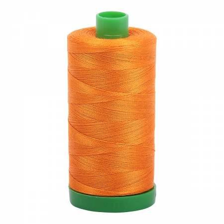 Aurifil 40 WT Cotton (Bright Orange)
