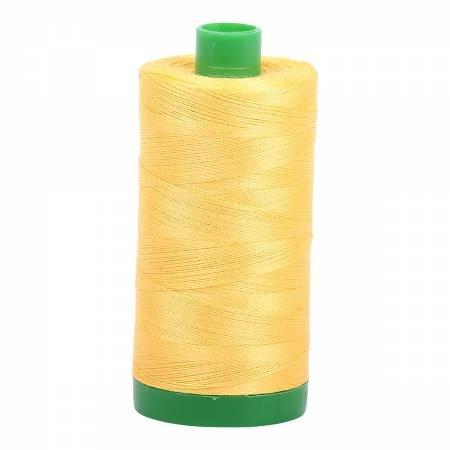 Aurifil 40 WT Cotton (Pale Yellow)