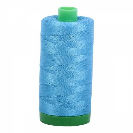 Aurifil 40 WT Cotton (Bright Teal)