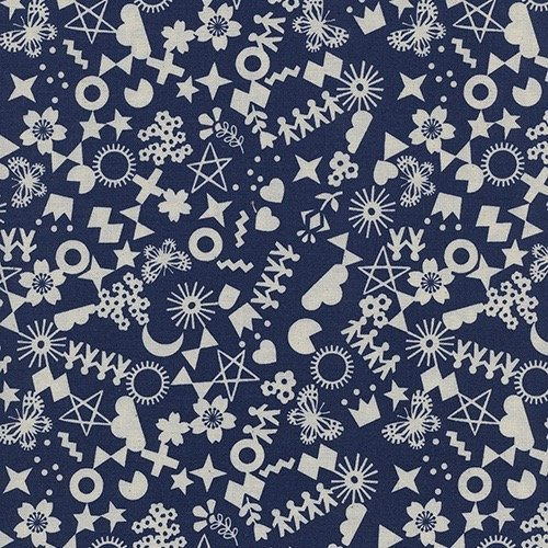 Rashida Coleman-Hale Paper Cuts - Cut It Out (Navy)