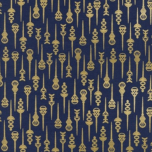 Rashida Coleman-Hale Akoma - Pin Up (Navy/Metallic)