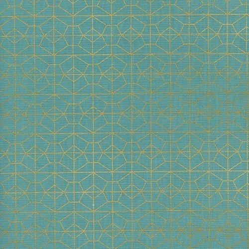 Rashida Coleman-Hale Akoma - Geo Grid (Sky/Metallic)
