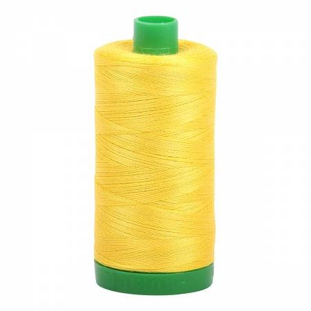 Aurifil 40 WT Cotton (Canary)
