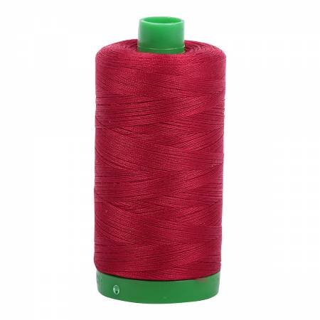 Aurifil 40 WT Cotton (Red Wine)