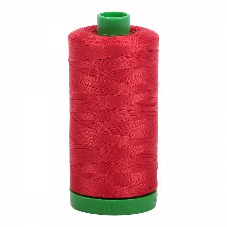 Aurifil 40 WT Cotton (Lobster Red)