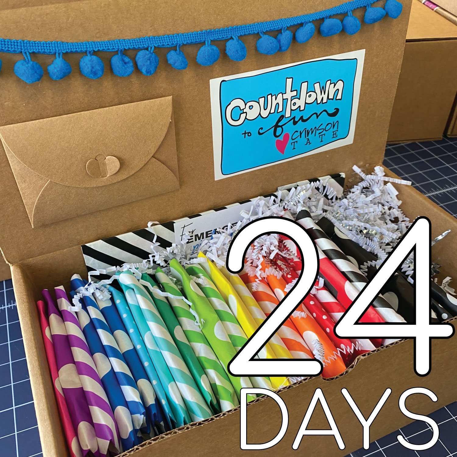 ***PREORDER*** Countdown to Fun - Box of Fabric Goodness