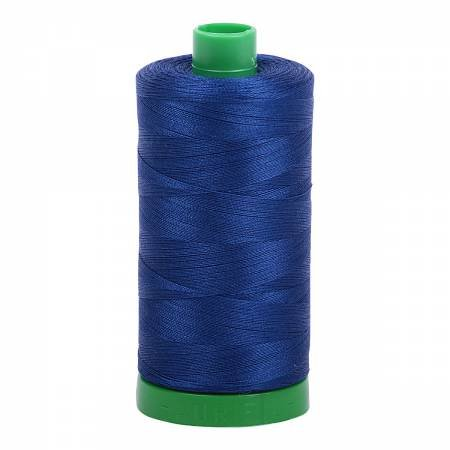Aurifil 40 WT Cotton (Dark Delft Blue)