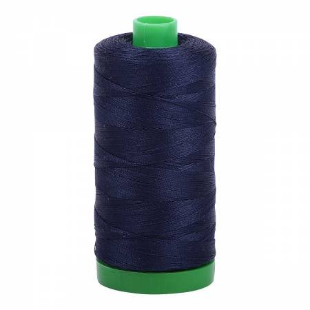 Aurifil 40 WT Cotton (Very Dark Navy)