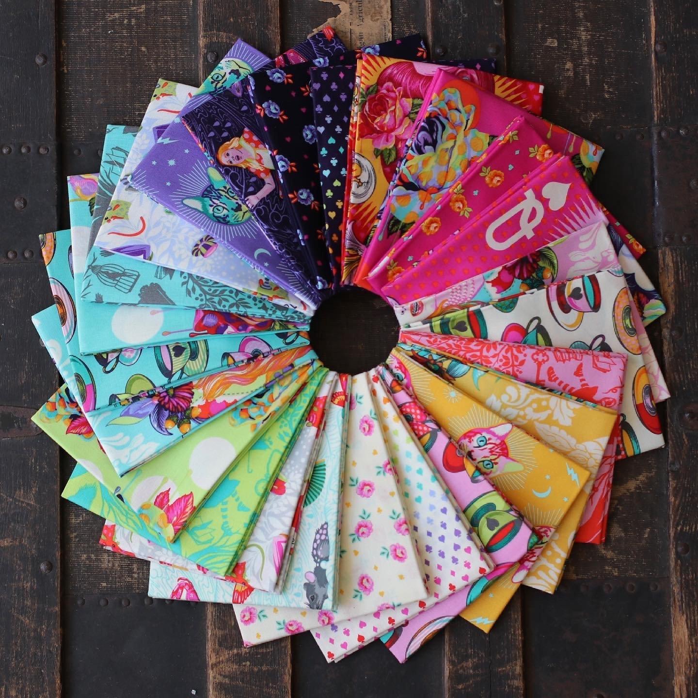 Tula Pink Curiouser and Curiouser - 25 pc. Half Yard Bundle