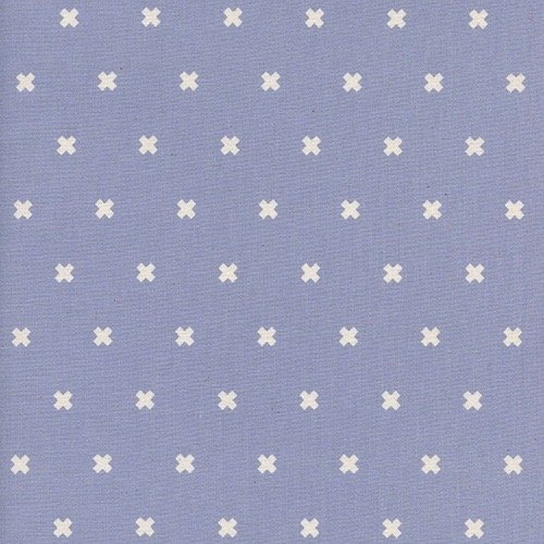 Cotton + Steel Basics - XOXO (Thistle)
