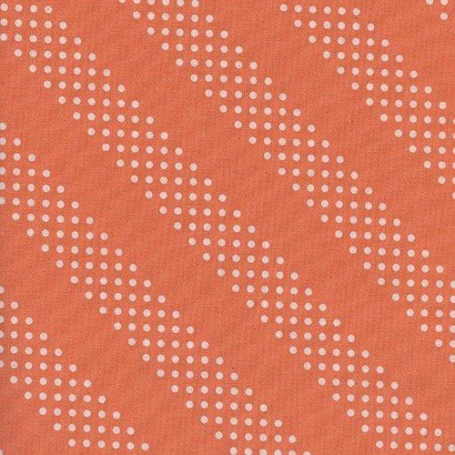 Cotton + Steel Basics - Dottie (Tangerine)