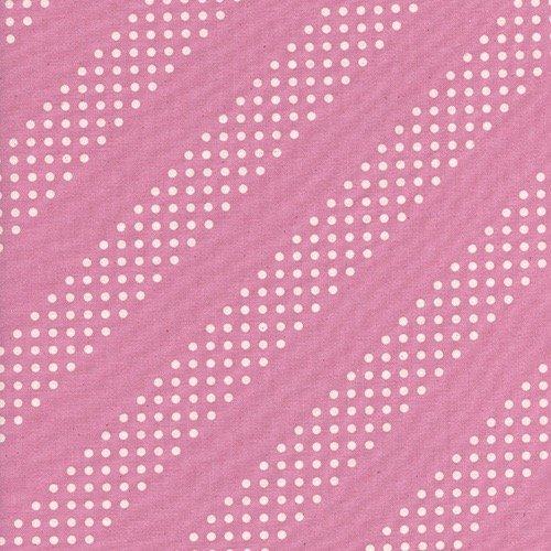Cotton + Steel Basics - Dottie (Peacock Pink)