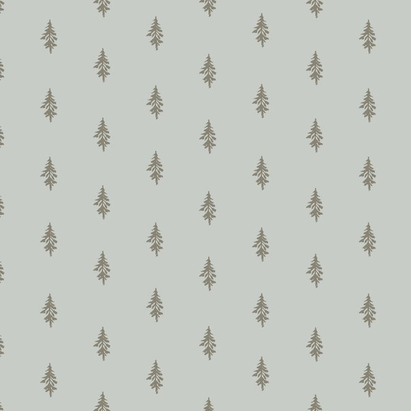 Heather Givans Night Hike - Trees (Light Grey)