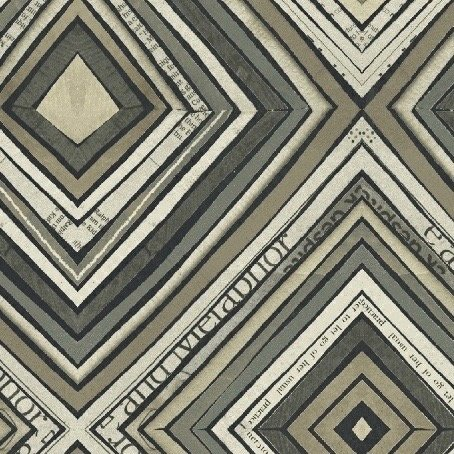 Carrie Bloomston Wonder - Zig Zag (Charcoal)