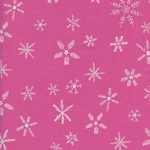 Cotton + Steel Frost - Flurry (Pink)