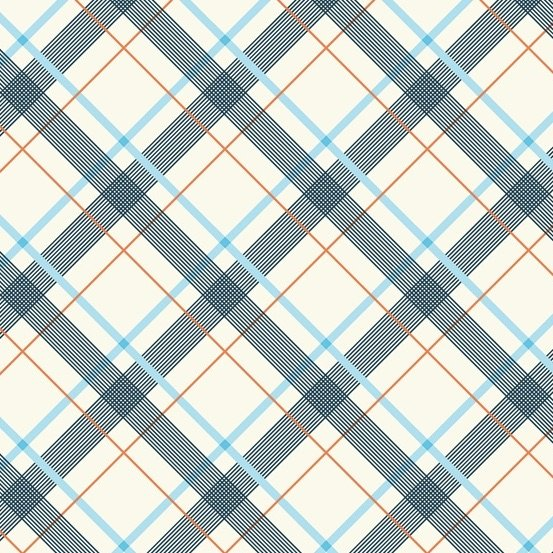 Denyse Schmidt Five and Ten - Wafer Plaid (Light Blue)